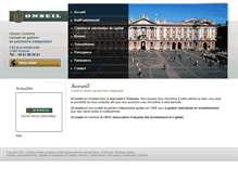 Tablet Preview of g-conseil.fr